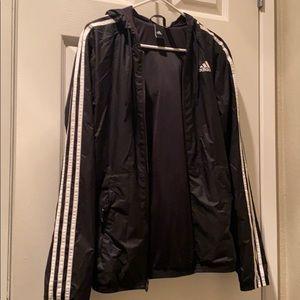 Addidas windbreaker hoodie